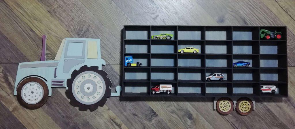 Traktor - półka na resoraki